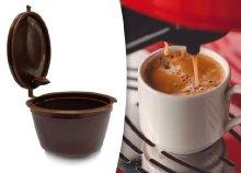 2 db újratölthető kávékapszula