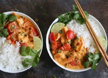 Thai főzőest és vacsora a KuktaParty-val