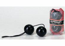 PVC DUOTONE BALLS BLACK