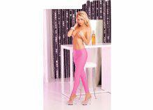 Erotikus, necc női nadrág, pink S/M