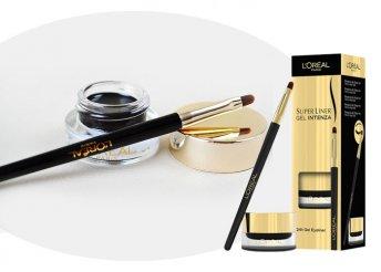Kifinomult textúra és intenzív színhatás 24 órán át: L'Oréal Super liner Gel Intenza szemhéjtus, ecsettel