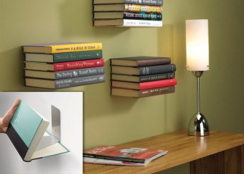 Láthatatlan, lebegő könyvespolc