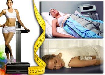 9 kezeléses csomag hő- és presszoterápiával, flabelos-szal a méregtelenítésre, az izomzat erősítésére