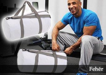 Egy rekeszes edzőtáska, többféle vidám színben, állítható vállpánttal és tágas főrekesszel