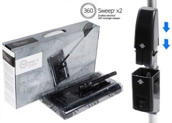 360 Sweep vezeték nélküli elektromos söprű