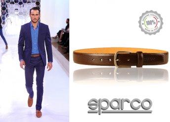 Sparco bőröv, olasz minőség férfiak számára