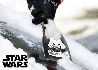 Játékos segítség Star Wors-os jégkaparóval