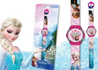 Jégvarázs digitális karóra lányoknak