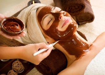 Csokoládés pakolás, masszázs és arcvasalás