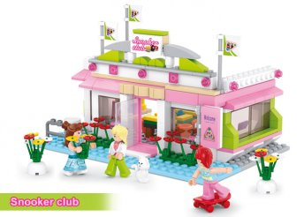 Sluban lányok álma építőjáték