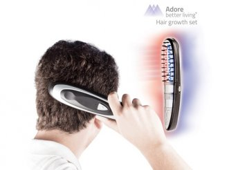 Hajhullás elleni elektromos hajkefe