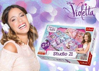 Violetta Stúdió 21 - 2 az 1-ben társasjáték