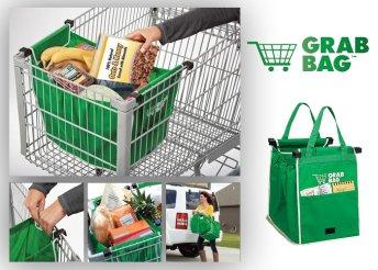 2 darab Grab and Bag strapabíró bevásárlótáska