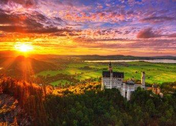 Neuschwanstein kastély és Salzburg megismerése