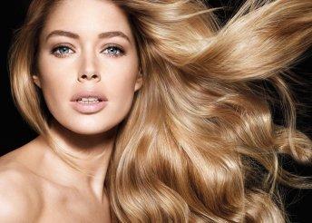 Keratinos hajújraépítés és beszárítás