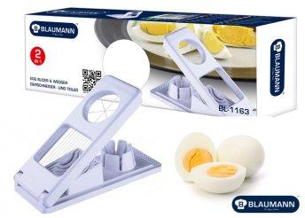 Blaumann 2 az 1-ben sajt- és tojásszeletelő