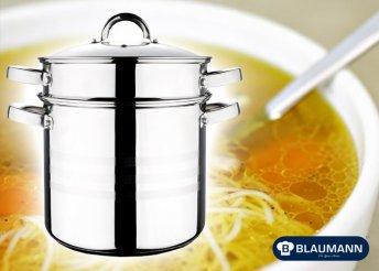 3 részes tészta és levesfőző fazék