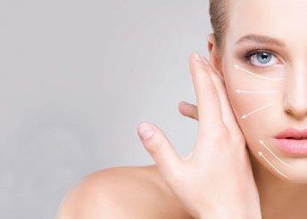 HIFU kezelés szemkörnyékre és homlokra