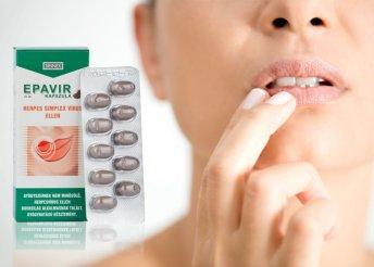 Epavir kapszula herpesz ellen 30 db