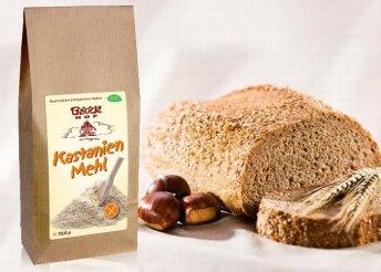 Bio gluténmentes gesztenyeliszt 350 g