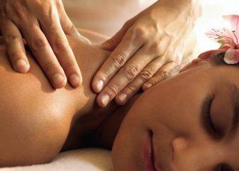 60 perces frissítő és relaxáló testmasszázs