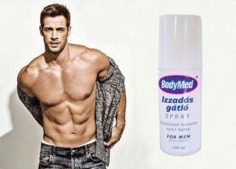 Izzadság gátló férfi spray 100 ml