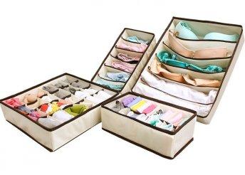 Fehérnemű tároló doboz