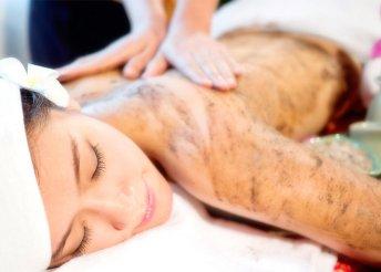 Bodyscrub relax masszás bőrradírozással
