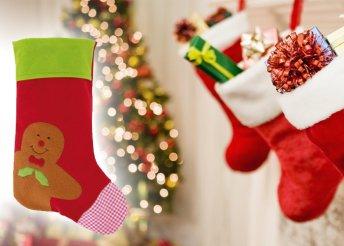 Ginger Man filc karácsonyi zokni