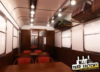 Száguldó vonat - kijutós játék 2-6 főnek