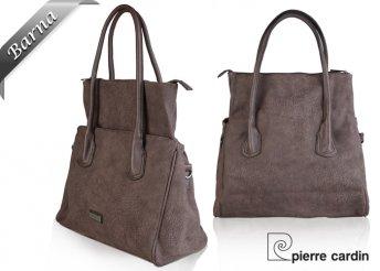 Pierre Cardin trendi, eco bőr női válltáska háromféle divatos színben