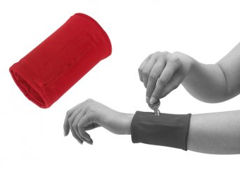 Cipzárazható csukló pénztárca sportoláshoz, kulcsok, kisméretű MP3  lejátszók számára is több színben