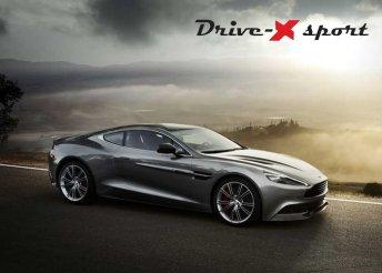 Élményvezetés Aston Martinnal a DRX Ringen