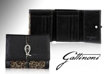 Divatos Gattinoni női bőr pénztárca