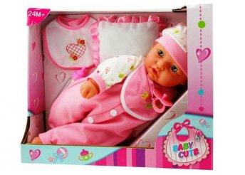 40 cm-es játékbaba