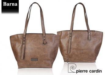 Pierre Cardin női, eco-bőr válltáska négy különböző színben