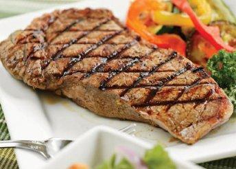Marha steak sajtmártással Szentendrén