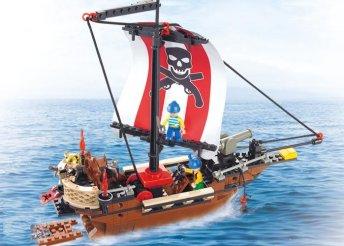 Sluban kalózhajó építőkészlet