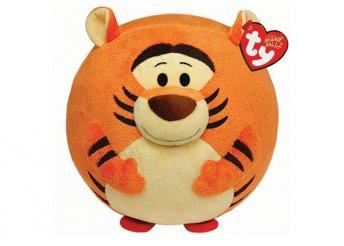 22 cm-es plüss Tigris labda figura hanggal