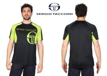 Sergio Tacchini férfi, környakú, rövid ujjú póló