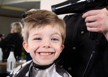 Gyermek hajvágás az EverGo Szépségszalonban