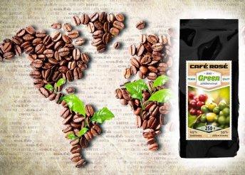 Cafe Rosé Green biokávé zöldkávéval 250 g-os kiszerelésben