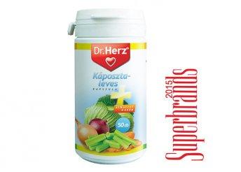 Dr. Herz káposztaleves + almaecet + króm kapszula 50 db-os kiszerelésben