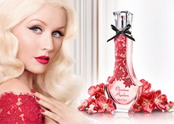 Christina Aguilera Red Sin 30 ml-es parfüm szív alakú dobozban