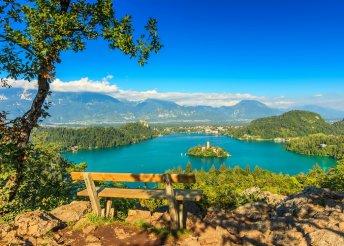 Családi síelés és pihenés a Bledi-tónál