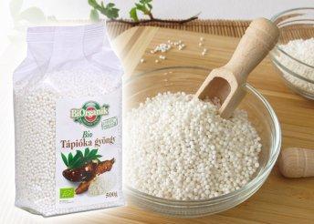 Vitaminforrás és remek alapanyag főzéshez: tápiókagyöngy
