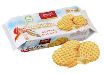 Herbavitál cukormentes vajas keksz 200 g-os kiszerelésben