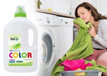 1,5 literes bio color öko mosószer koncentrátum színes ruhákhoz