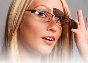 Speciális Clip-on szemüveg, 1,5-ös törésmutatójú lencsével, polarizált (napszemüveg) mágneses előtéttel