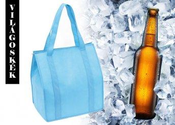 Hűtőtáska bevásárlótáska formával hatféle színben